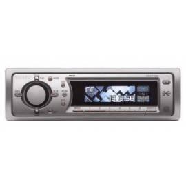 Auto Radio Sony CDX-F7500, CD/MP3 Gebrauchsanweisung