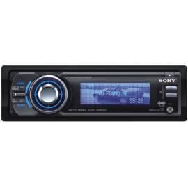 Auto Radio Sony CDXGT929U.EUR CD/MP3 Bedienungsanleitung