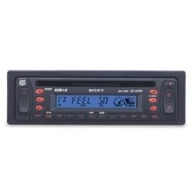 Handbuch für Autoradio Sony CDX-L420V Design der CD