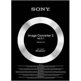 Bedienungshandbuch Software Sony-PSP-Bildwandler MSSW-IC2P