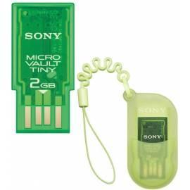 Datasheet Flash USB Sony USM2GH Micro Vault Ultra Klein, 2GB