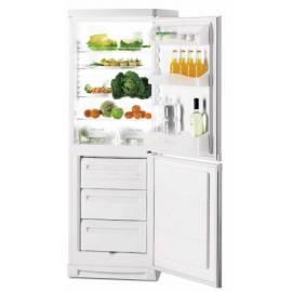 Benutzerhandbuch für Kombination Kühlschrank / Gefrierschrank ZANUSSI ZK 21/10 her