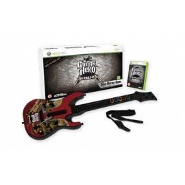 HRA Xbox 360 Guitar Hero Metallica + tenis - Anleitung