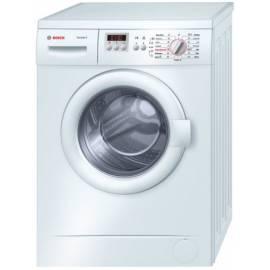Waschmaschine Bosch WAA 20262BY vorne Leistung Gebrauchsanweisung