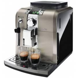 Bedienungsanleitung für Espresso Maschinen Syntia RI/11 PHILIPS 9836 Schwarz/Edelstahl