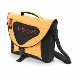 DICOTA Notebook Tasche Messenger Bag Orange, Grösse 16, cm Ntb auf dem Notebook (N15489P_TOS) schwarz/Orange - Anleitung
