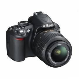 Digitalkamera NIKON D3100 + 18-55 AF-S DX VR schwarz Gebrauchsanweisung
