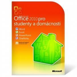 Benutzerhandbuch für MICROSOFT Office home und Student 2010 Eng-Box (79 Gramm-01897)