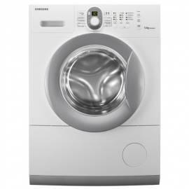 Bedienungsanleitung für Waschmaschine SAMSUNG WF0500NUV silber/weiss