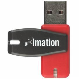 Datasheet USB-flash-Disk IMATION Atom 16GB USB 2.0 (i24247) rot