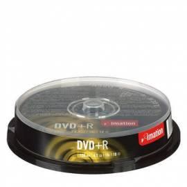 Bedienungshandbuch Zaznamove Medium IMATION DVD + R 4.7 GB 16 x 10-Kuchen (i21748)