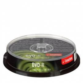 Zaznamove mittlere IMATION DVD - R 4.7 GB 16 x 10-Kuchen (i21978) Bedienungsanleitung