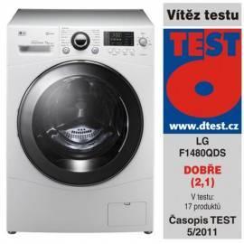 Service Manual Waschmaschine LG F1480QDS weiß
