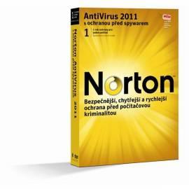 Software SYMANTEC Norton Antivirus 2011 (21070485) Bedienungsanleitung