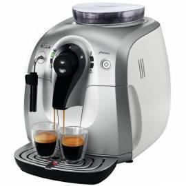 Bedienungsanleitung für Espresso PHILIPS Xsmall HD 8745/09 Klasse silber/weiss