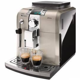 Espresso PHILIPS Syntia HD 8859/19 Klasse schwarz/gold - Anleitung