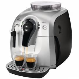Bedienungsanleitung für Espresso PHILIPS Xsmall HD 8745/19 Klasse schwarz/silber