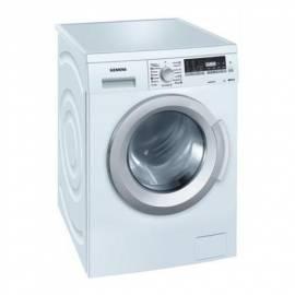 Datasheet Waschmaschine SIEMENS WM12Q460BY weiss