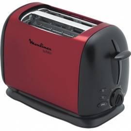 Benutzerhandbuch für MOULINEX Topinek sofort Toaster LT 120530 rot