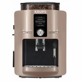 Espresso KRUPS EA8240 schwarz/braun