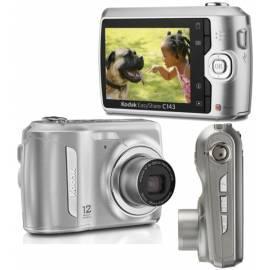 Handbuch für Digitalkamera KODAK EasyShare C143 Silber