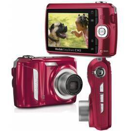 Digitalkamera KODAK EasyShare C143 rot - Anleitung