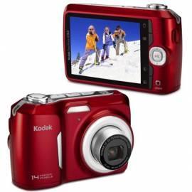 KODAK EasyShare C183 Digitalkamera rot Gebrauchsanweisung