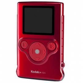 Bedienungsanleitung für KODAK Mini Camcorder rot