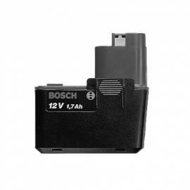 Akku Bosch 12V/1, 5Ah Bedienungsanleitung