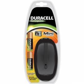 Ladegerät DURACELL CEF 20 + RCR 2 X AA 2650 / 2450 mAh schwarz Bedienungsanleitung
