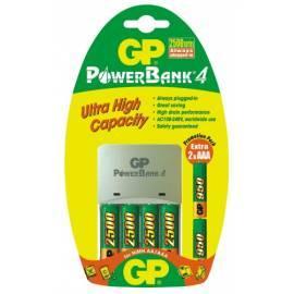 Ladegerät GP GP Powerbank 20GS + 250AAHC 4ks + 95AAA 2ks Bedienungsanleitung