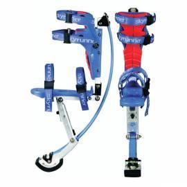 Bedienungshandbuch Bouncing Schuhe, SKYRUNNER JR 30-50 blau blau