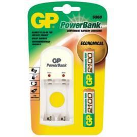 Handbuch für Ladegerät GP PowerBank PB360GS + 2 X GP210AAH weiß