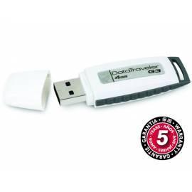 Bedienungshandbuch USB flash-Disk KINGSTON Data Traveler G3 4GB USB 2.0 (DTIG3 / 4GB) grau