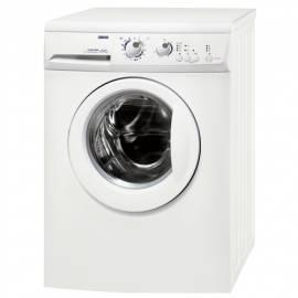 Service Manual Waschmaschine ZANUSSI ZWG 5100P weiß