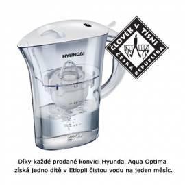 Wasserfiltration HYUNDAI Aqua Optima CLARION weiß Gebrauchsanweisung