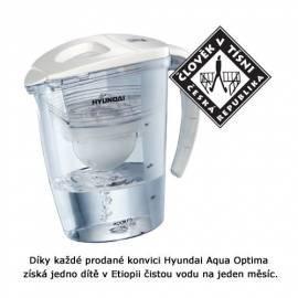Bedienungshandbuch Wasserfiltration HYUNDAI Aqua Optima GALIA weiß