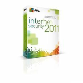 Software AVG Internetsecurity 2011, 1 Lic. (12 Monate). SN-DVD (ISC1N12DS001) Gebrauchsanweisung