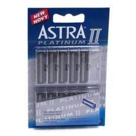 zusätzliche Klinge GILLETTE Astra Platinum II 10 ks - Anleitung