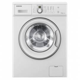 Datasheet Waschmaschine SAMSUNG WF0702NCE weiß
