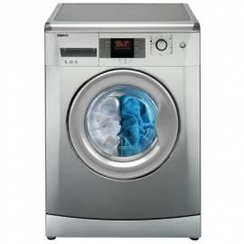 Waschmaschine BEKO WMB 51241 PT mit Silber Bedienungsanleitung