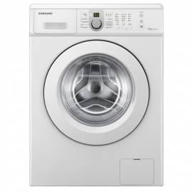 Bedienungshandbuch Waschmaschine SAMSUNG WF0702NCW weiß