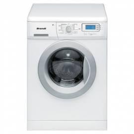Bedienungsanleitung für Automatische Waschmaschine BRANDT WFA1447E weiß