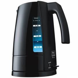 Elektrische Wasserkocher MELITTA Melitta look Aqua Base schwarz Gebrauchsanweisung