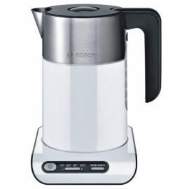 Wasserkocher BOSCH TWK Styline 8611 weiß Gebrauchsanweisung