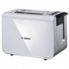 Bedienungsanleitung für Toaster BOSCH Styline TAT 8611 weiß