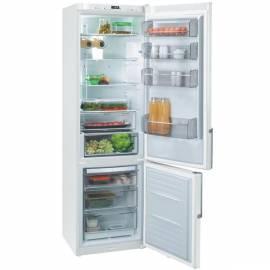 Eine Kombination Kühlschrank/Gefriertruhe FFJ6825 white FAGOR