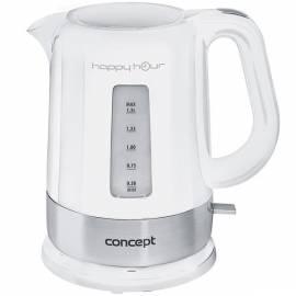 Elektrischer Wasserkocher-RK-Happy Hour-Konzept-2030 (8594049736683) weiß/Edelstahl Gebrauchsanweisung