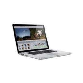Datasheet Notebook APPLE MacBook Pro 15'' i7 2.66GHz/4G/500/NV/MacX/CZ (Z0J6/CZ)