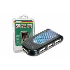 USB hub DIGITUS USB Digitus USB 2.0 hub (DA-70210) Gebrauchsanweisung